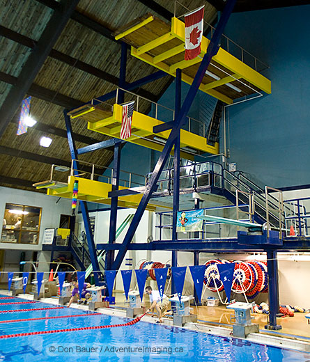 Brantford\'s Dive Platforms